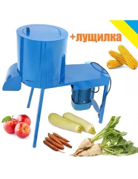 Корморезка- лущилка кукурузы Bizon-1К с (260 кг/час) - фото
