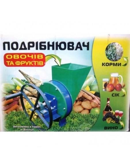 Измельчитель ручной Винница ПОФ (овощей, фруктов, корнеплодов) - фото