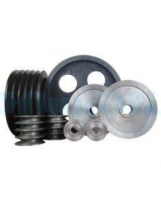 Шкива d от 0 до 50 мм стальные ручьевые для клиновых ремней - фото