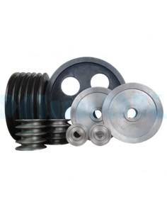 Шкива d от 100 до 150 мм стальные ручьевые для клиновых ремней - фото