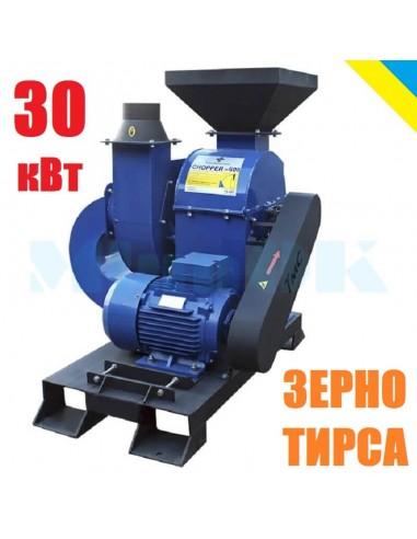 Дробилка CHOPPER - 600 (30 кВт, молотковая зернодробилка) - фото 1