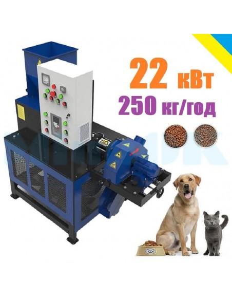 Экструдер для корма домашним животным ЭШК-80 (собакам, котам, рыбе) - фото