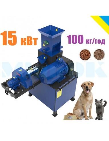 Экструдер для корма домашним животным ЭШК-60 (собакам, котам, рыбе) - фото 1