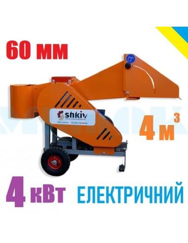 Измельчитель веток 2В-60Е электрический (4м3 в час) - фото 1