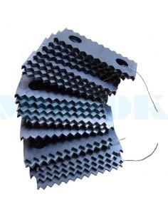 Комплект молотков для зернодробилки (ДКУ) - фото