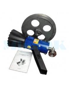 Рабочая часть гранулятора 100 мм со шкивами - фото