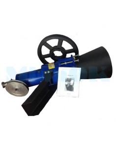 Рабочая часть гранулятора 150 мм со шкивами - фото