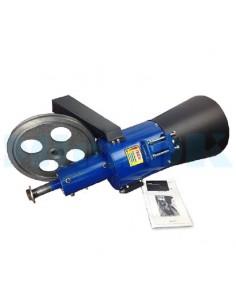 Рабочая часть гранулятора 200 мм со шкивами - фото