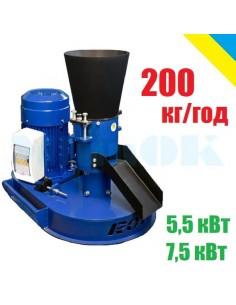 Гранулятор Rotex-200 (5,5/7,5 кВт 200 кг/час) - фото