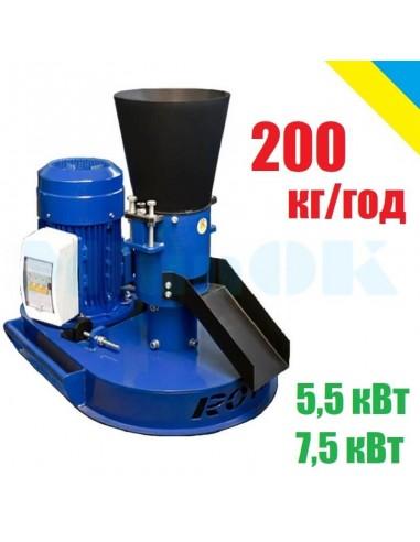Гранулятор Rotex-200 (5,5/7,5 кВт 200 кг/час) - фото 1