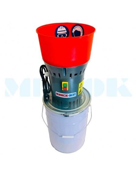 Зернодробилка Минск МЗТ ДЗ- 25 (1,3 кВт, 300 кг/час) измельчитель зерна - фото